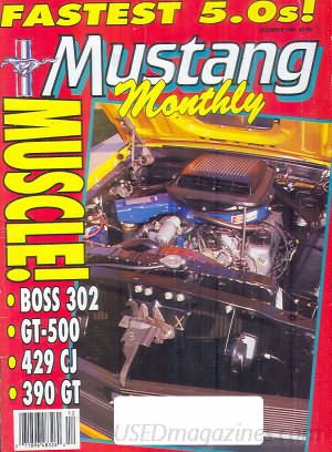 Mustang Monthly December 1990