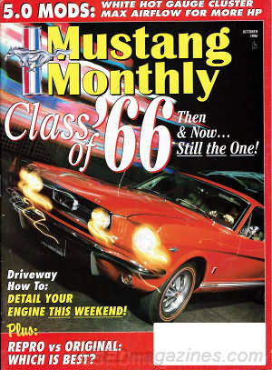 Mustang Monthly October 1995
