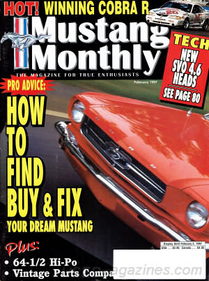 Mustang Monthly February 1997