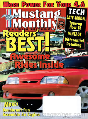 Mustang Monthly September 1998