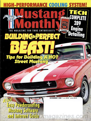 Mustang Monthly November 1998