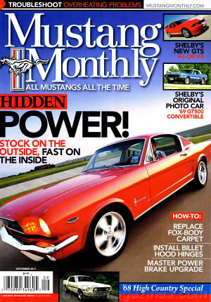 Mustang Monthly September 2011