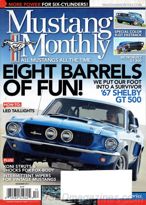 Mustang Monthly December 2013