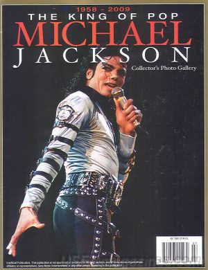 The King of Pop Michael Jackson Collector's Photo Gallery Magazine