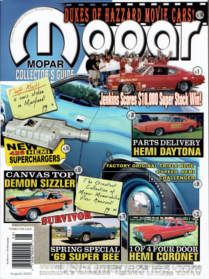 Mopar Collector's Guide December 2004