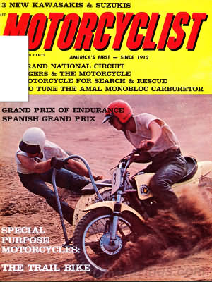 Motorcyclist July 1967