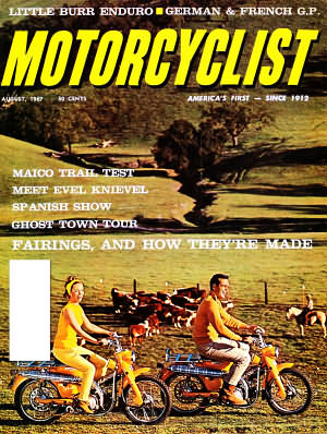 Motorcyclist August 1967