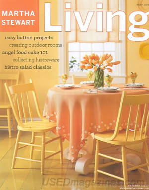 Martha Stewart Living May 2003