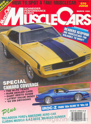 Muscle Cars March 1990