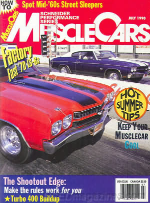 Muscle Cars July 1990