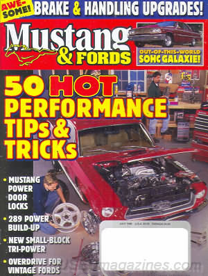 Mustangs & Fords July 1999