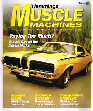 Muscle Machines October 2004