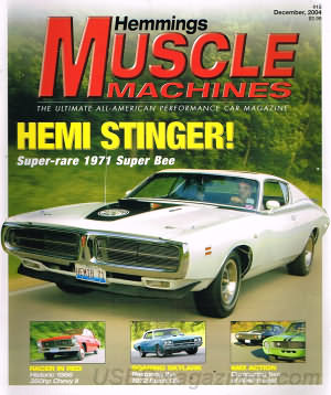 Muscle Machines December 2004