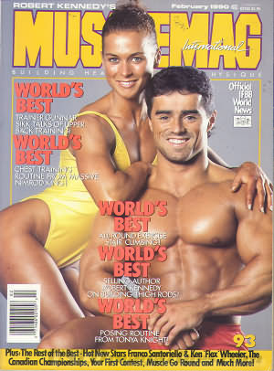 MuscleMag February 1990