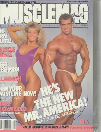 MuscleMag February 1992