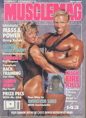 MuscleMag May 1994