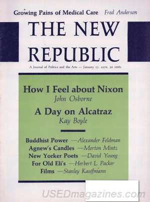 The New Republic January 17, 1970