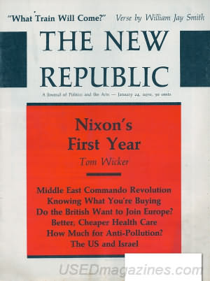 The New Republic January 24, 1970