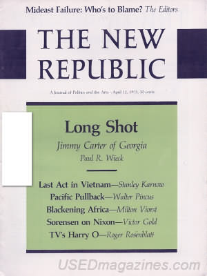 The New Republic April 12, 1975