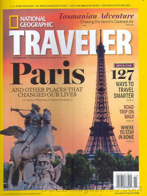 National Geographic Traveler November/December 2012
