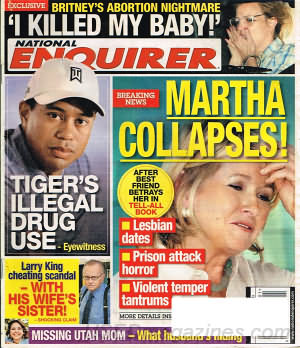 National Enquirer January 04, 2010