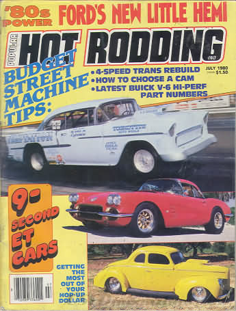 Popular Hot Rodding July 1980