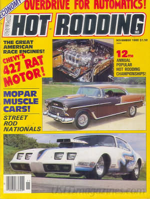 Popular Hot Rodding November 1980