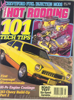 Popular Hot Rodding May 1989