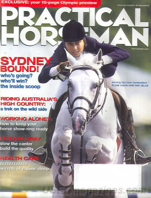 Practical Horseman September 2000