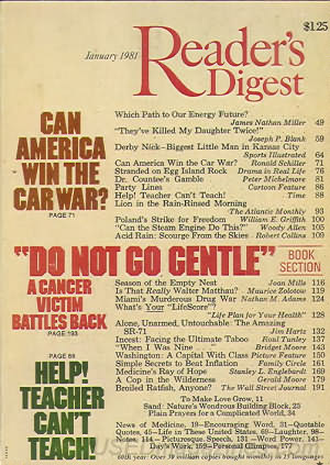 Reader's Digest January 1981