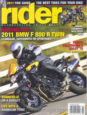 Rider March 2011
