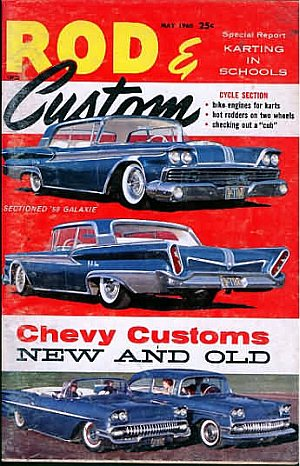 Rod & Custom May 1960