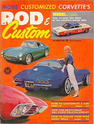 Rod & Custom October 1963