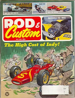 Rod & Custom May 1966