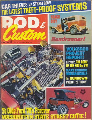 Rod & Custom June 1968