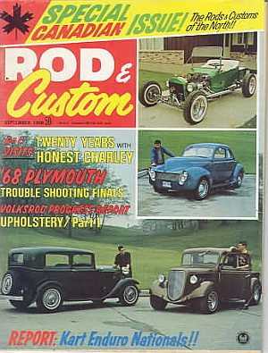 Rod & Custom September 1968