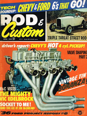 Rod & Custom April 1969