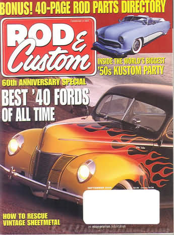 Rod & Custom September 2000