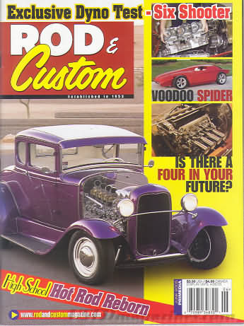 Rod & Custom June 2005