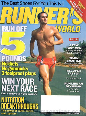 Runner's World September 2003