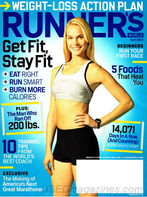 Runner's World April 2007