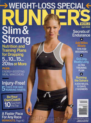 Runner's World April 2008