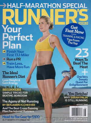 Runner's World August 2009