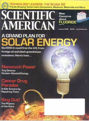 Scientific American January 2008