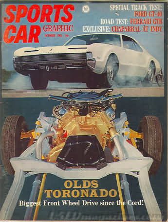 Sports Car Graphic October 1965