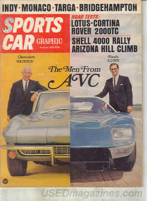 Sports Car Graphic August 1966