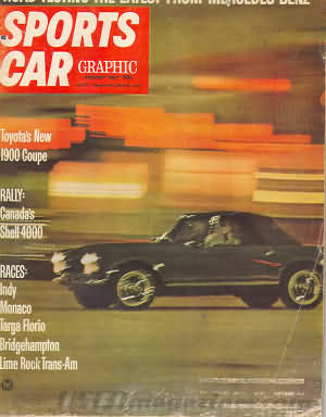 Sports Car Graphic August 1967