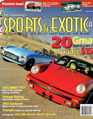Sports & Exotic Car September 2005