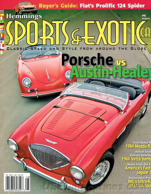 Sports & Exotic Car August 2006