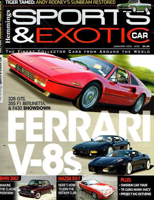 Sports & Exotic Car January 2014